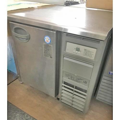 【中古】冷蔵コールドテーブル フクシマガリレイ(福島工業) YRW-090RM 幅900×奥行750×高さ800 【送料別途見積】【業務用】
