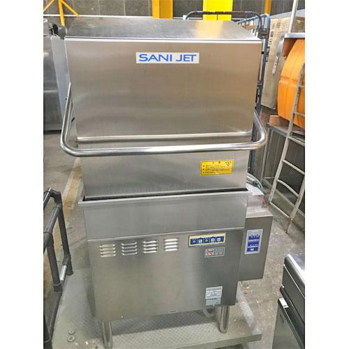 【中古】食器洗浄機 サニジェット SD113EA6 幅680×奥行700×高さ1360 三相200V 60Hz専用 【送料無料】【業務用】