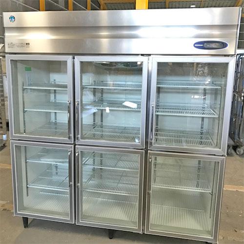 【中古】冷蔵リーチインショーケース ホシザキ RS-180X3-6G 幅1800×奥行800×高さ1900 三相200V 【送料無料】【業務用】