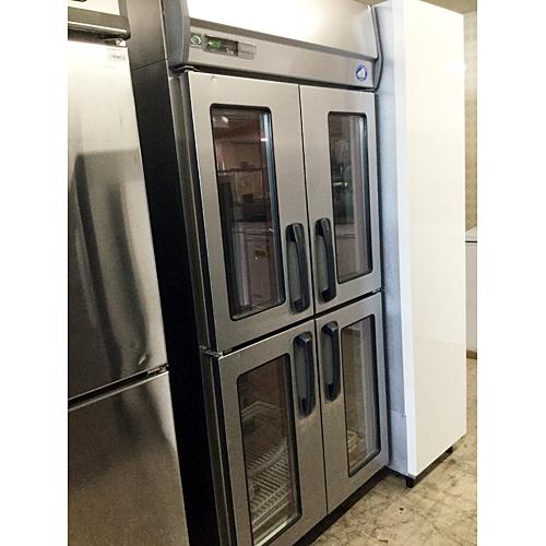 【中古】4ドア冷蔵庫 サンヨー SRR-J981VS 幅900×奥行800×高さ1950 【送料別途見積】【業務用】
