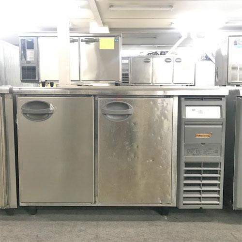 【中古】冷蔵コールドテーブル 福島工業(フクシマ) YRC-120RM-R 幅1200×奥行600×高さ800 【送料別途見積】【業務用】