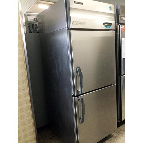 【中古】冷蔵庫 ホシザキ HR-75X3 幅750×奥行800×高さ1890 三相200V 【送料別途見積】【業務用】