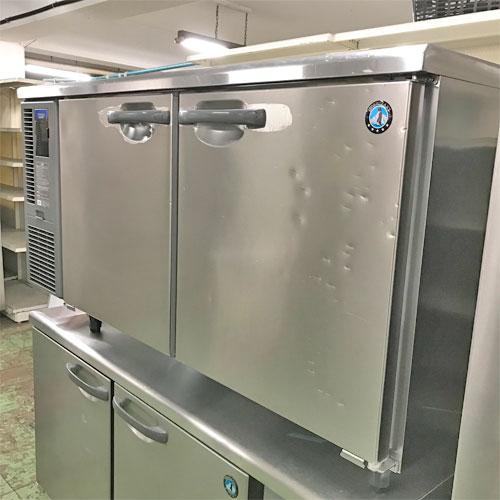 【中古】冷蔵コールドテーブル ホシザキ RT-150SDF-E-ML 幅1500×奥行750×高さ800 【送料無料】【業務用】
