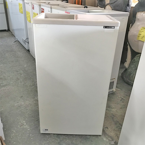 【中古】冷凍ストッカー サンデン PF-057XE 幅490×奥行310×高さ865 【送料別途見積】【業務用】
