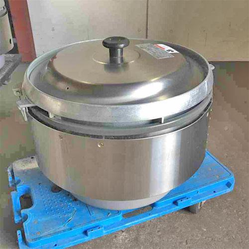 【中古】炊飯器 リンナイ RR-50S2-F-OH 幅543×奥行506×高さ442 都市ガス 【送料別途見積】【業務用】