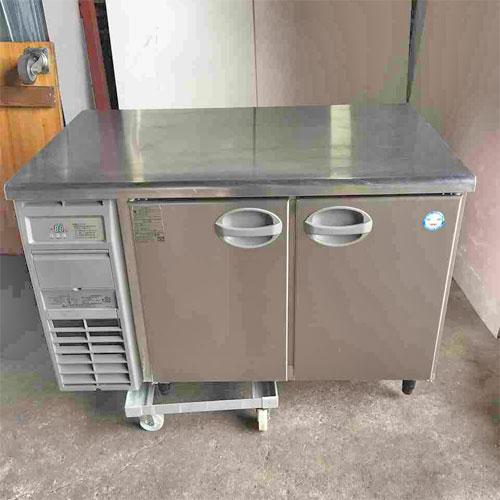 【中古】冷蔵コールドテーブル 福島工業(フクシマ) YRW-120RM2 幅1200×奥行750×高さ800 【送料無料】【業務用】