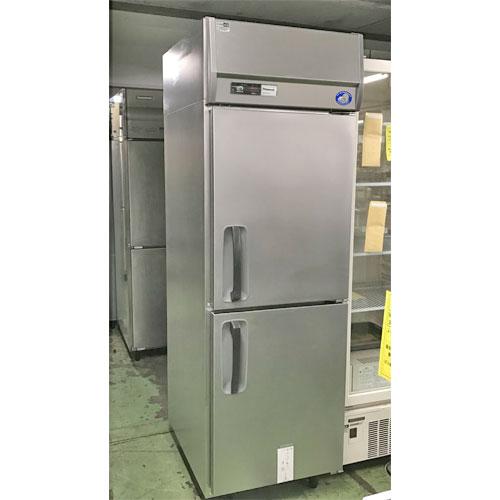 【中古】2ドア冷蔵庫 パナソニック(Panasonic) SRR-J681UA 幅610×奥行800×高さ1930 【送料別途見積】【業務用】