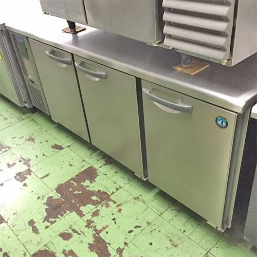 【中古】冷蔵コールドテーブル ホシザキ RT-180SNF-E-3 幅1800×奥行600×高さ800 三相200V 【送料別途見積】【業務用】
