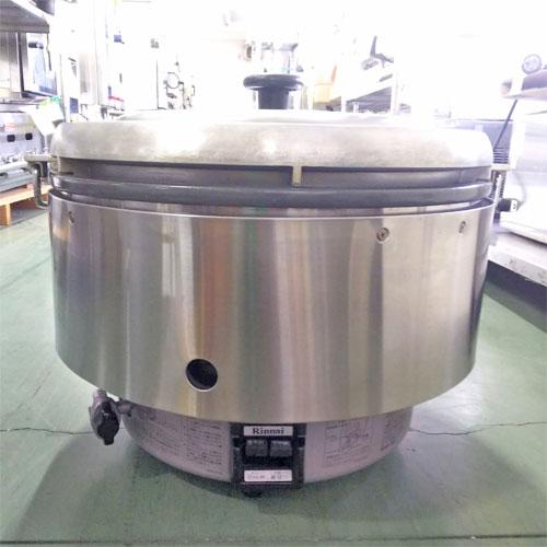 【中古】ガス炊飯器 リンナイ RR-50S2-F-OH 幅543×奥行506×高さ442 都市ガス 【送料無料】【業務用】