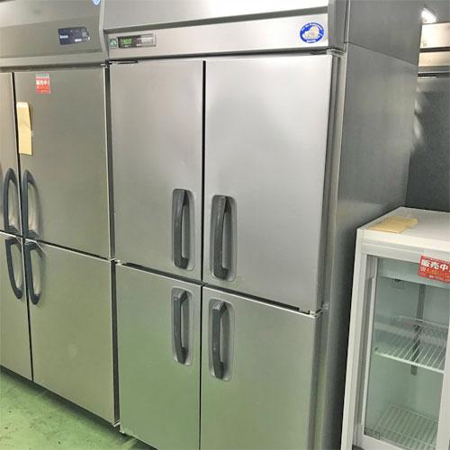 【中古】縦型冷凍庫 サンヨー SRR-J981VS 幅900×奥行800×高さ1950 【送料別途見積】【業務用】
