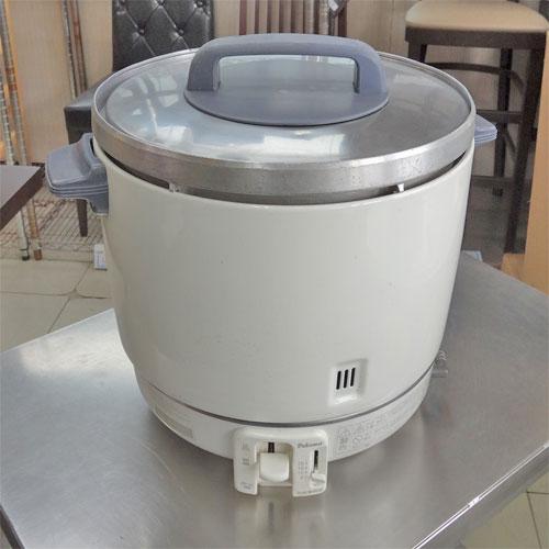 【中古】炊飯器 2升 パロマ PR-403SF 幅412×奥行337×高さ367 都市ガス 【送料別途見積】【業務用】
