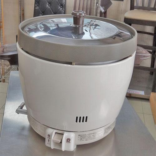 【中古】炊飯器 2升 リンナイ RR-20SF2 幅431×奥行334×高さ348 都市ガス 【送料別途見積】【業務用】