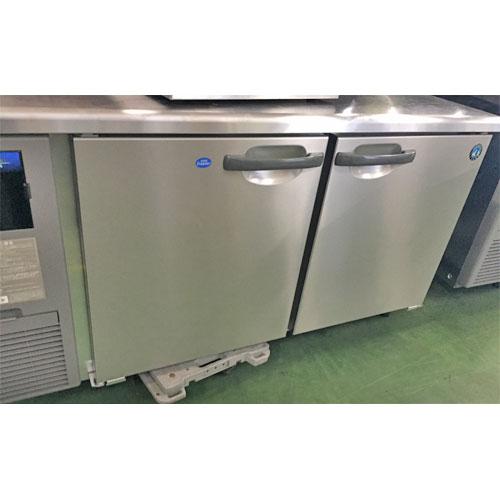 【中古】冷凍冷蔵コールドテーブル ホシザキ RFT-150SNF 幅1500×奥行600×高さ800 【送料別途見積】【業務用】