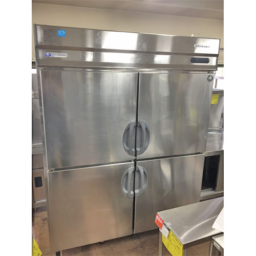 【中古】縦型冷凍冷蔵庫 フクシマガリレイ(福島工業) URD-52PMTA1 幅1490×奥行800×高さ1950 三相200V 【送料別途見積】【業務用】