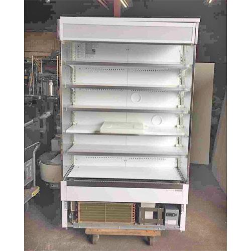 【中古】冷蔵多段オープンショーケース 大和冷機 433OP-MB 幅1170×奥行600×高さ1925 三相200V 【送料別途見積】【業務用】