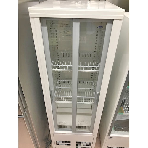 【中古】冷蔵ショーケース パナソニック(Panasonic) SMR-S75B 幅460×奥行450×高さ1517 【送料無料】【業務用】
