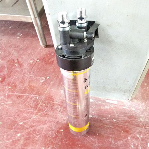 【中古】浄水器 エバーピュア QL3-4DC 幅115×奥行95×高さ430 【送料別途見積】【未使用品】【業務用】