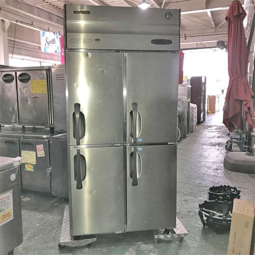 【中古】縦型冷凍冷蔵庫 ホシザキ HRF-90XF3 幅900×奥行800×高さ1900 三相200V 【送料別途見積】【業務用】