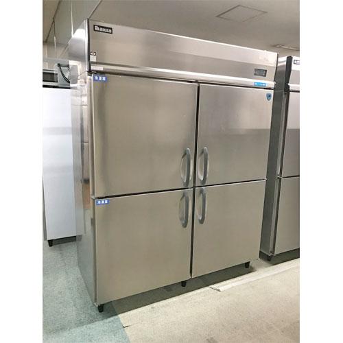 【中古】縦型冷凍冷蔵庫 大和冷機 553YS2-4 幅1500×奥行650×高さ1905 三相200V 【送料別途見積】【業務用】