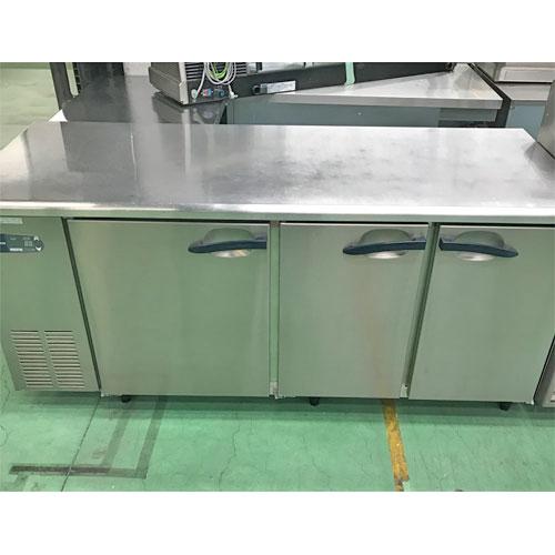 【中古】冷蔵コールドテーブル 大和冷機 6071CD-EC 幅1800×奥行750×高さ800 【送料別途見積】【業務用】