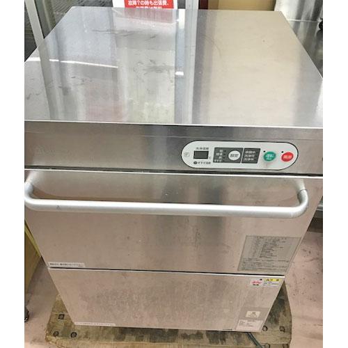【中古】食器洗浄機 タニコー TDWC-405UE3 幅600×奥行600×高さ800 三相200V 50Hz専用 【送料無料】【業務用】