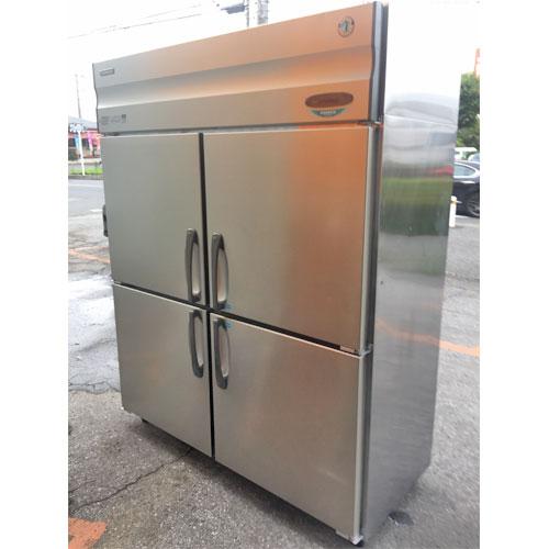 【中古】4ドア冷凍冷蔵庫 ホシザキ HRF-150XFT3 幅1500×奥行650×高さ1890 三相200V 【送料別途見積】【業務用】