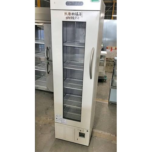 【中古】血液用冷蔵庫 フクシマガリレイ(福島工業) FMB-180G 幅500×奥行500×高さ1830 【送料無料】【業務用】