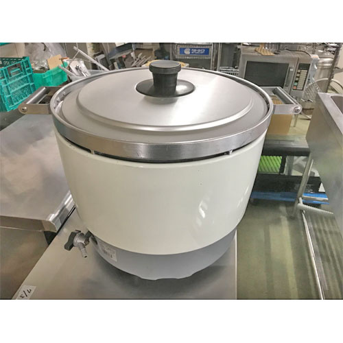 【中古】ガス炊飯器 パロマ PR-6DSS-1 幅513×奥行410×高さ414 都市ガス 【送料別途見積】【業務用】