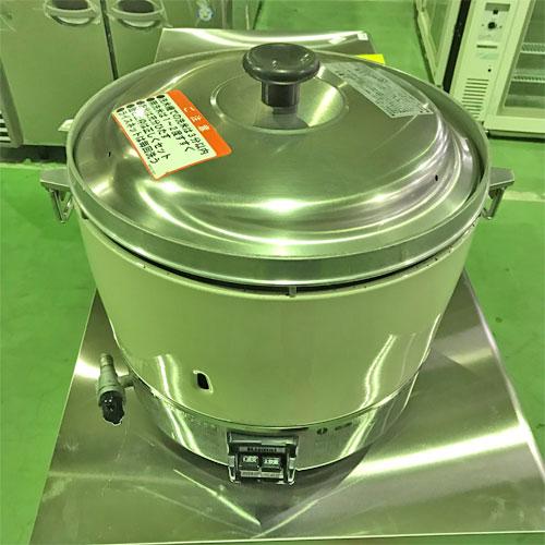 【中古】ガス炊飯器 リンナイ RR-30S1-F 幅450×奥行421×高さ407 都市ガス 【送料別途見積】【業務用】