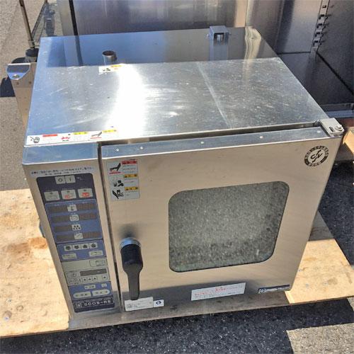 【中古】スチームコンベクションオーブン ニチワ電気 SCOS-52-3RS-L 幅680×奥行650×高さ620 三相200V 【送料無料】【業務用】