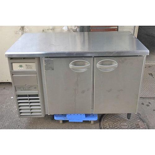 【中古】冷蔵コールドテーブル フクシマガリレイ(福島工業) YRC-120RE2 幅1200×奥行600×高さ820 【送料別途見積】【業務用】