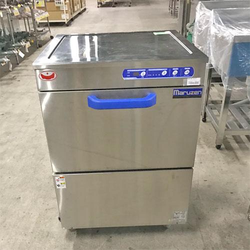 【中古】食器洗浄機 マルゼン MDKLB8E 幅600×奥行600×高さ800 三相200V 【送料無料】【業務用】