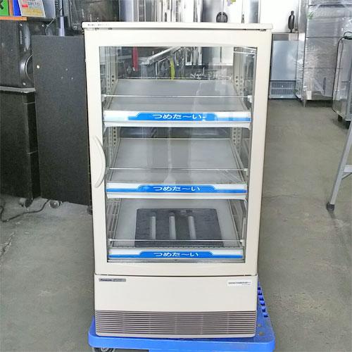【中古】冷蔵ショーケース パナソニック(Panasonic) SMR-C75CH3 幅470×奥行463×高さ880 【送料別途見積】【業務用】