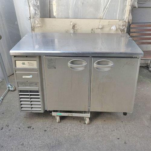 【中古】冷蔵コールドテーブル フクシマガリレイ(福島工業) YRC-120RE 幅1200×奥行600×高さ800 【送料別途見積】【業務用】