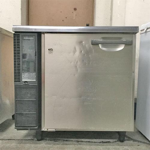 【中古】1ドア 冷蔵コールドテーブル ホシザキ RT-80SNE1 幅800×奥行650×高さ800 【送料別途見積】【業務用】