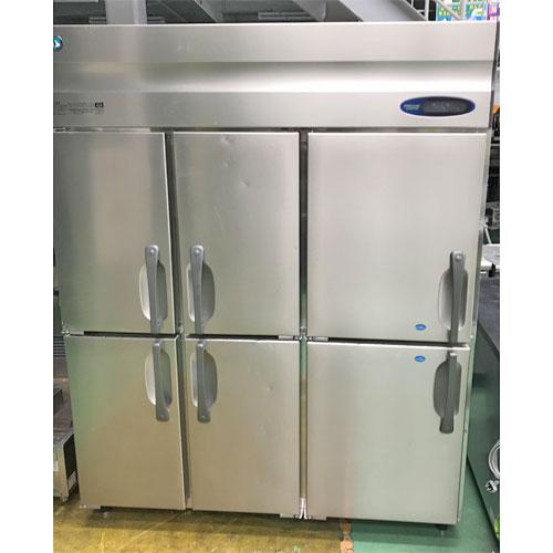 【中古】縦型冷凍冷蔵庫 ホシザキ HRF-150ZFT3 幅1500×奥行650×高さ1890 三相200V 【送料別途見積】【業務用】