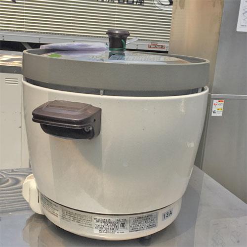 【中古】ガス炊飯器 リンナイ RR20SF2 幅431×奥行335×高さ348 都市ガス 【送料別途見積】【業務用】