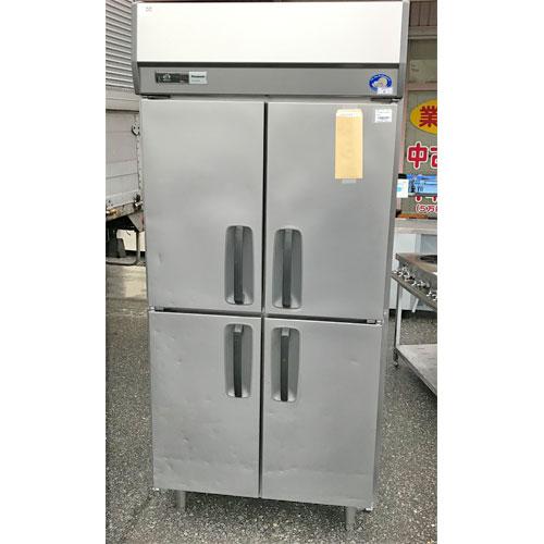 【中古】4ドア冷蔵庫 パナソニック(Panasonic) SRR-J981VSA 幅900×奥行800×高さ1980 【送料別途見積】【業務用】