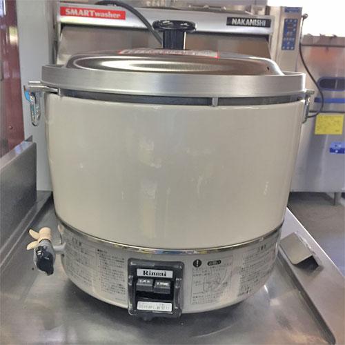 【中古】ガス炊飯器 卓上型(普及タイプ) リンナイ RR-30S1-F 幅450×奥行421×高さ425 都市ガス 【送料無料】【業務用】