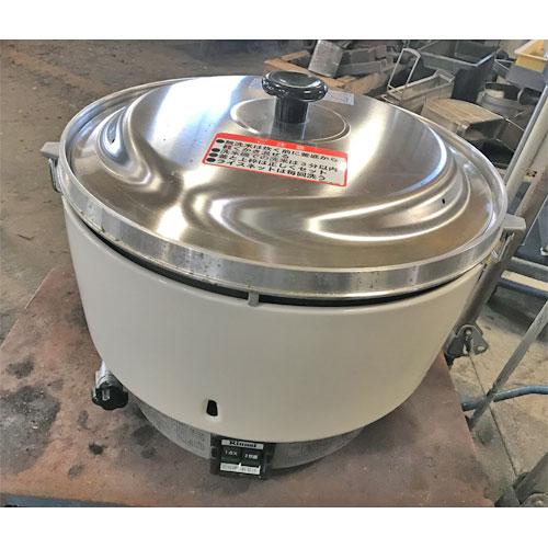 【中古】ガス炊飯器 5升 リンナイ RR-50S1 幅525×奥行481×高さ434 都市ガス 【送料別途見積】【業務用】