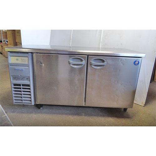 【中古】冷蔵コールドテーブル 福島工業(フクシマ) YRC-150RE2 幅1500×奥行600×高さ800 【送料別途見積】【業務用】