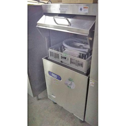 【中古】食器洗浄機 タニコー TDWG-4DF1L 幅600×奥行660×高さ1440 都市ガス 【送料別途見積】【業務用】