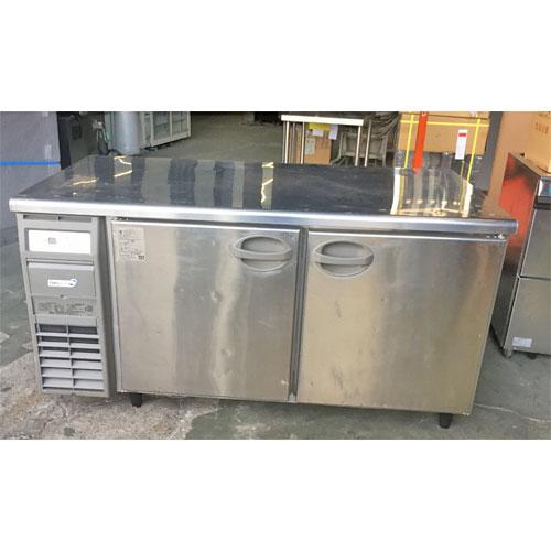 【中古】冷蔵コールドテーブル フクシマガリレイ(福島工業) YRW-150RE1-F 幅1500×奥行750×高さ800 【送料別途見積】【業務用】