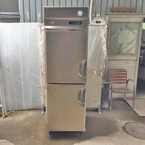 【中古】縦型冷凍庫 フクシマガリレイ(福島工業) ARD-062FMD 幅610×奥行800×高さ1950 三相200V 【送料別途見積】【業務用】