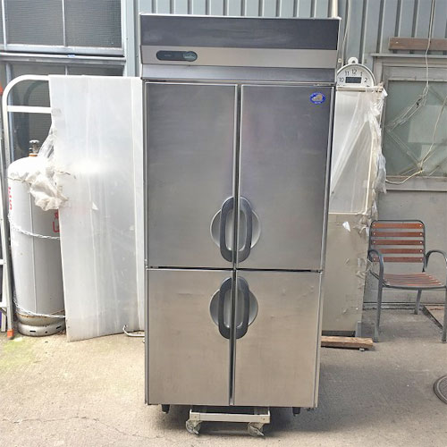【中古】縦型冷凍庫 サンヨー SRF-G983S 幅900×奥行800×高さ2000 三相200V 【送料別途見積】【業務用】