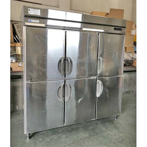 【中古】縦型冷凍冷蔵庫 フクシマガリレイ(福島工業) URD-62PMTA1 幅1800×奥行800×高さ1950 三相200V 【送料別途見積】【業務用】