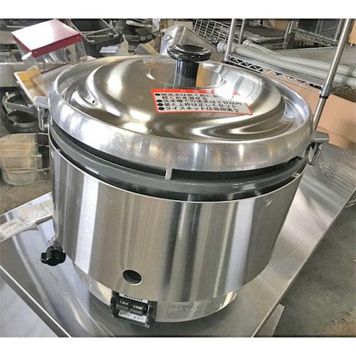 【中古】ガス炊飯器 リンナイ RR-3052 幅466×奥行438×高さ442 LPG(プロパンガス) 【送料無料】【業務用】