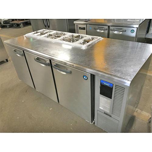 【中古】サンドイッチコールドテーブル ホシザキ RT-180SDF-E-R 幅1800×奥行750×高さ800 【送料別途見積】【業務用】