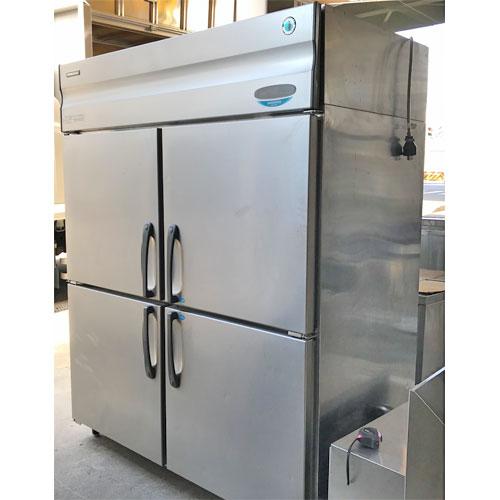 【中古】縦型冷凍冷蔵庫 ホシザキ HRF-150XF3 幅1500×奥行800×高さ1890 三相200V 【送料別途見積】【業務用】