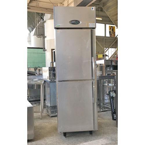 【中古】縦型冷蔵庫 フジマック FR-6180J 幅610×奥行800×高さ1900 【送料別途見積】【業務用】